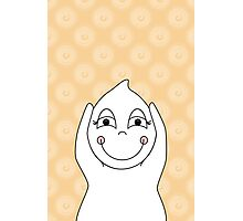 Baby Ghost Playing Photographic Print