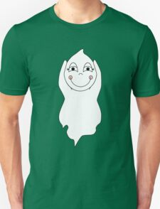 Baby Ghost Playing Unisex T-Shirt