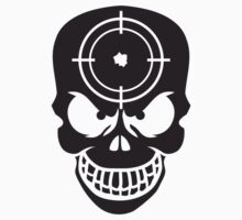 Evil Skull With Target by Style-O-Mat