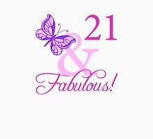 Fabulous 21st Birthday For Girls T-Shirt