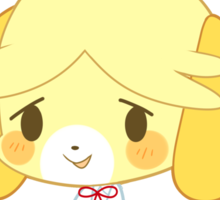 Animal Crossing - Isabelle Sticker