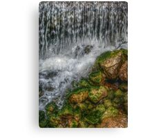 Waterfall in Pueblo, CO??? Canvas Print