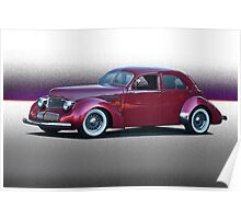 1940 Graham 'Hollywood' Retro Rod III Poster