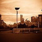 Copper Melbourne Sunrise by Andrew Wilson