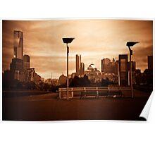 Copper Melbourne Sunrise Poster