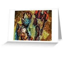 Dead Space Greeting Card