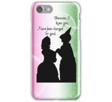 Because I Knew You iPhone Case/Skin