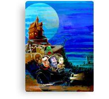 monster car Canvas Print