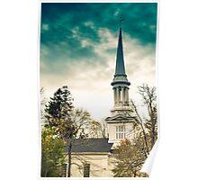 First Church of Christ, Sandwich, Massachusetts Poster