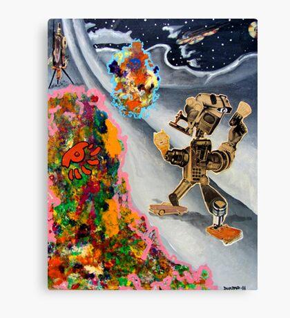 Fifties Science Fiction Canvas Print
