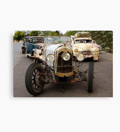 Vintage Cars near Castlemaine, Victoria Canvas Print