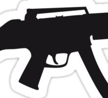 Assault Rifle Gun Sticker