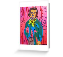 Reflection of Claude Monet Greeting Card