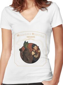 Victorian detectives Women's Fitted V-Neck T-Shirt