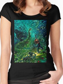 shipwreck Women's Fitted Scoop T-Shirt