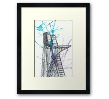 Stark Tower Framed Print