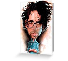 Tim Burton Greeting Card