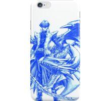 Yugioh Seto Kaiba Blue Eyes White Dragon  iPhone Case/Skin
