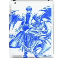 Yugioh Seto Kaiba Blue Eyes White Dragon  iPad Case/Skin