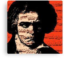 A Clockwork Beethoven. Canvas Print