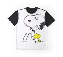 Snoopy and Woodstock Graphic T-Shirt