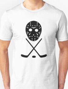 Ice Hockey Sticks and Mask T-Shirt