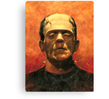 Frankensteins Monster Canvas Print