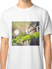 Acorn in the moss- Wandering forest 9 Classic T-Shirt