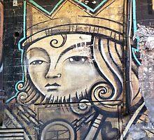 Melbourne Street Art #100 - King of Hearts by pommieken