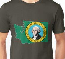 Washington State [Wht] | SteezeFSC Unisex T-Shirt