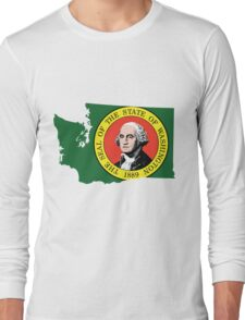 Washington State Rasta Original | SteezeFSC Long Sleeve T-Shirt
