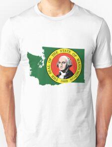 Washington State Rasta Original | SteezeFSC T-Shirt