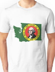 Washington State Rasta [Trippy Version] | SteezeFSC Unisex T-Shirt