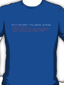 PowerShell Error 2 T-Shirt