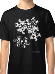 Warehouse 13 Puzzle for Black Classic T-Shirt