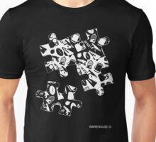 Warehouse 13 Puzzle for Black Unisex T-Shirt