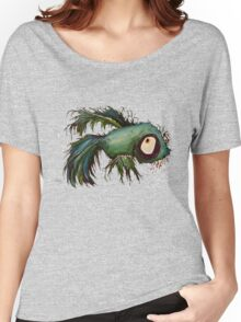 """""""ds"""" the zombie betta fish Women's Relaxed Fit T-Shirt"""
