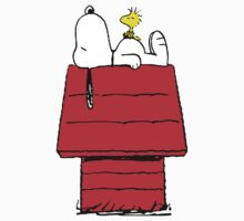 Snoopy and Woodstock Sleeping Kids Clothes