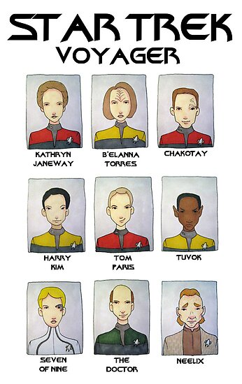 STAR TREK VOYAGER  by Bantambb