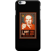 SOVIET RED ARMY I WANT YOU iPhone Case/Skin