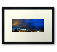 ©HCS Red And Blue Sky 140613 Framed Print