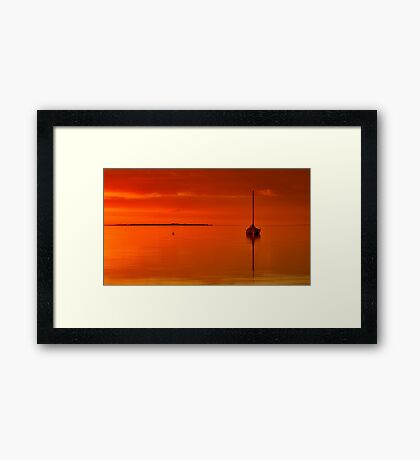 """Solitude And Serenity"" Framed Print"