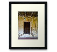 San Carlos de Carmelo Mission #15 Framed Print