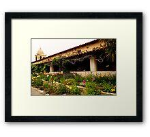 San Carlos de Carmelo Mission #17 Framed Print