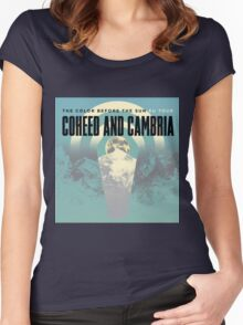COHEED CAMBRIA TOUR 2016 BEFORE SUN Women's Fitted Scoop T-Shirt