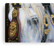From The House of Judah/King David's Steed Canvas Print
