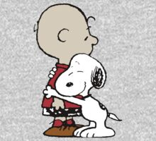 Snoopy Hugs Charlie Kids Clothes