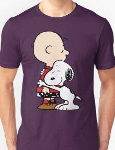 Snoopy Hugs Charlie T-Shirt