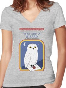 Conjure Your Own Adventure Women's Fitted V-Neck T-Shirt