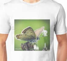 Asking the butterfly- Wandering forest 11 Unisex T-Shirt